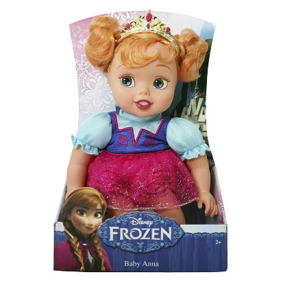Disneys Frozen Baby Anna Doll Disney's FROZEN Toys For 1 Year Olds