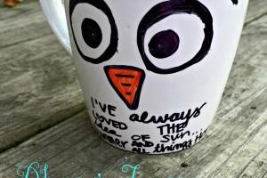 Disney Frozen Craft For Kids: Olaf Mug Handmade Gift