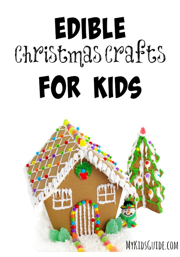 We love doing fun crafts for the kids around the holidays, and these Edible Christmas Crafts For Kids are perfect to introduce this season.