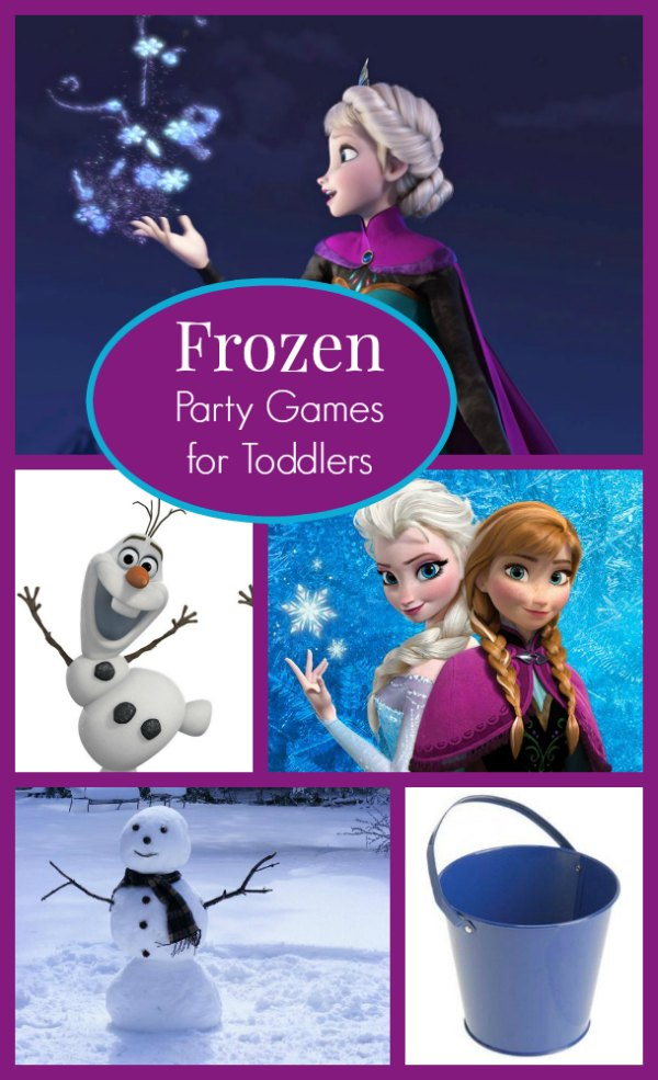 Frozen Party Games For Toddlers My Kids Guide