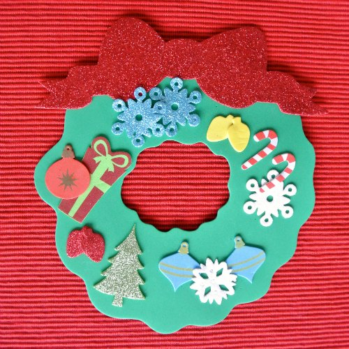 Christmas Wreath Craft for Kids