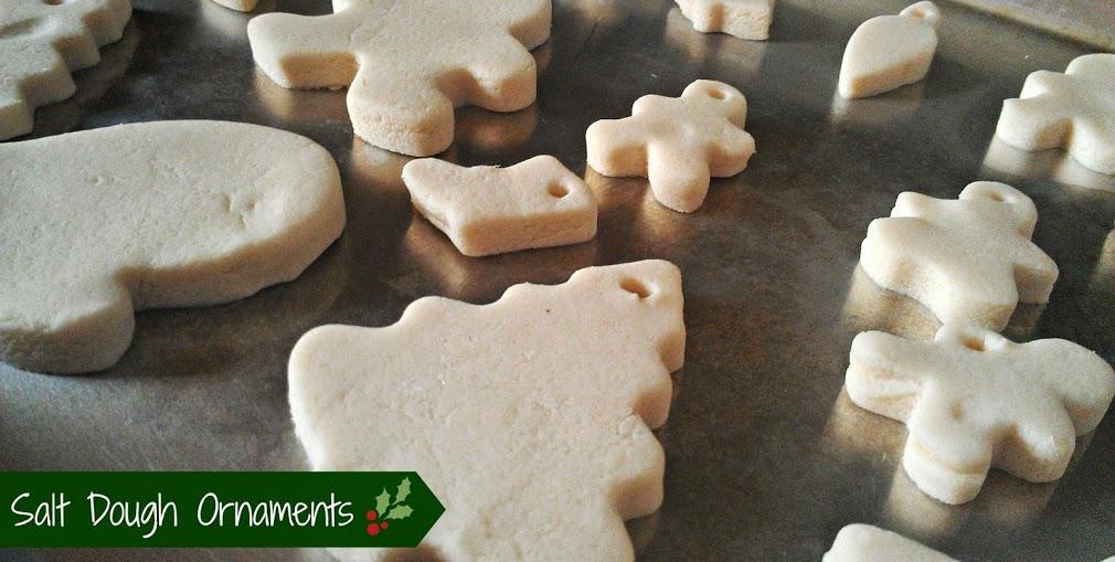 Christmas Crafts for Kids: Salt Dough Ornaments