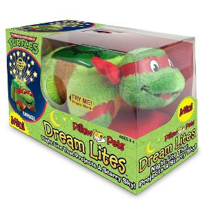 TMNT Dream Lites Ninja Turtles toy for 1 year olds