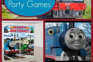 Thomas the Train Party Games for Kids
