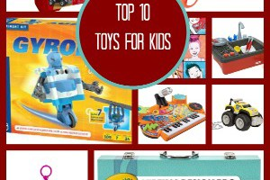 Toy Gift Ideas from the Top 10 FamilyFun T.O.Y. Award Winners for 2014