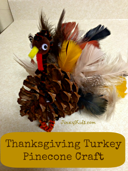 Pinecone Thanksgiving Crafts For Kids