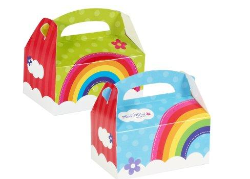Rainbow Party Favor Boxes Rainbow Party Supplies