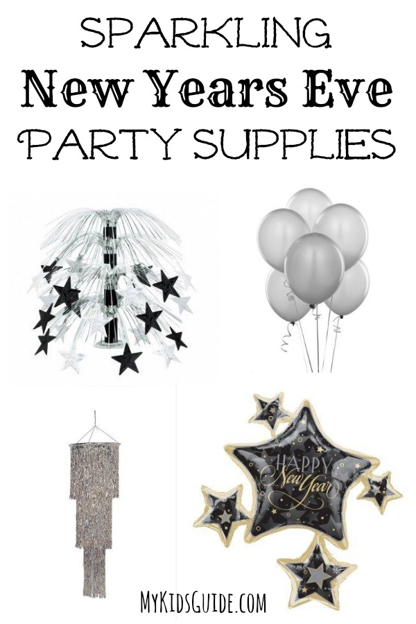 Sparkling New Year S Eve Nails Tutorial: Sparkling New Years Eve Party Supplies For Kids & Adults