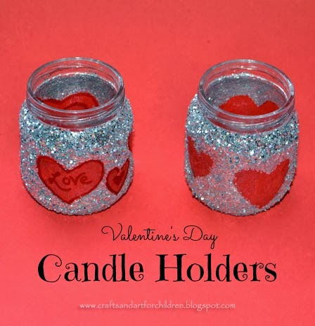 DIY-Valentine-s-DayTreat-Jar-or-Candle-Holder Valentine's Day crafts for preschoolers