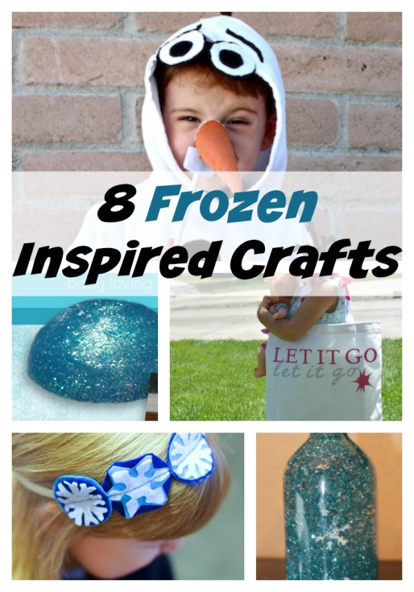 Looking for some inspiration straight out of Arrendelle? Check out these eight fabulous Frozen crafts for kids, all inspired by the hit Disney movie! Grab your kids and create some movie magic!