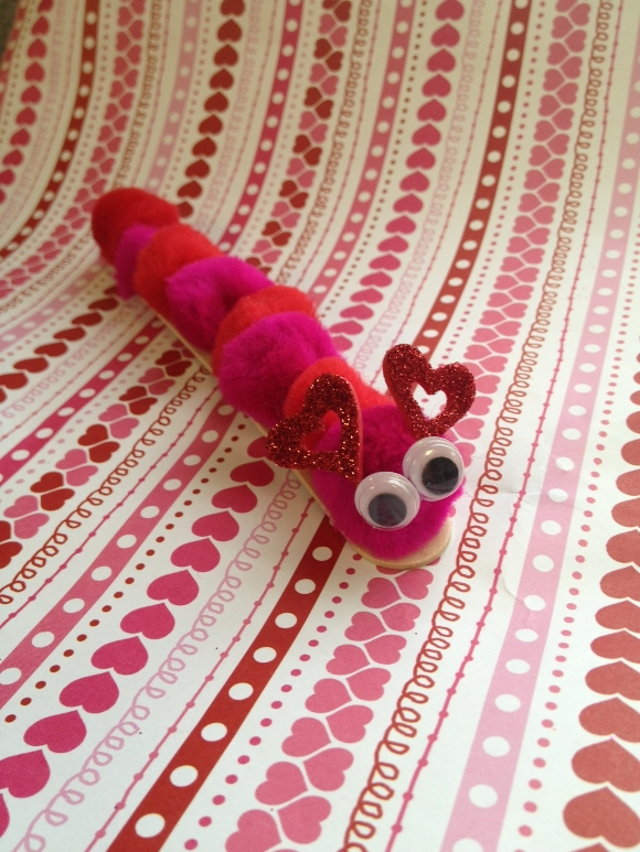 Valentine's Day crafts for toddlers: Love Bug