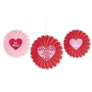 Paper Tissue Valentines Day party supplies