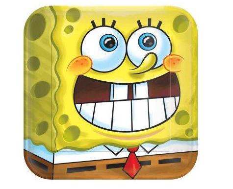 Spongebob Squarepans Plates  Spongebob Squarepants Party Supplies for kids