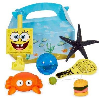 Spongebob Squarepants Party Favor Kit