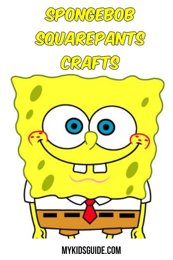 Everyone knows who lives in the pineapple under the sea, and these Fun Spongebob Squarepants Crafts are perfect to make for your next Spongebob Squarepants party.