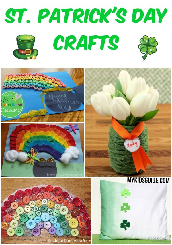 Everyone loves to claim they are Irish on St. Patrick's Day and these 11 Easy St. Patrick's Day Crafts are perfect for your whole family to get involved in celebrating.
