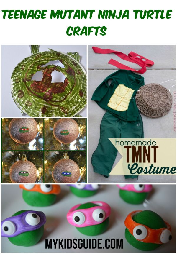We love the reincarnation of our favorite super heroes the TMNT, and these Great Teenage Mutant Ninja Turtle Crafts are sure to make your new fans happy.