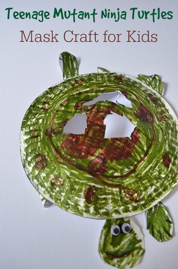 Turtle Mask: Teenage Mutant Ninja Turtle Crafts