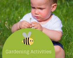 Gardening activities for toddlers