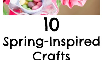 Say so-long to dreary Old Man Winter with these 10 darling spring crafts for kids! They're perfect for both indoor and outdoor family crafting time.