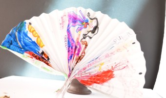 Decorative Fan Paper Craft