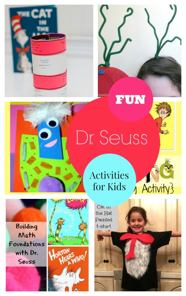 Looking for fun Dr Seuss activities for kids to celebrate the birthday of the whimsical author? Check out our favorites that will have them giggling!