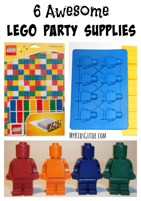 If your kids loved The Lego Movie, then they will love these 6 Awesome Lego Party Supplies that will let you build party connections that last a lifetime!