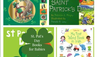 These St. Patrick's Day books for babies are just about the sweetest things! Grab one, two or all and snuggle up to start showing your Irish Pride!