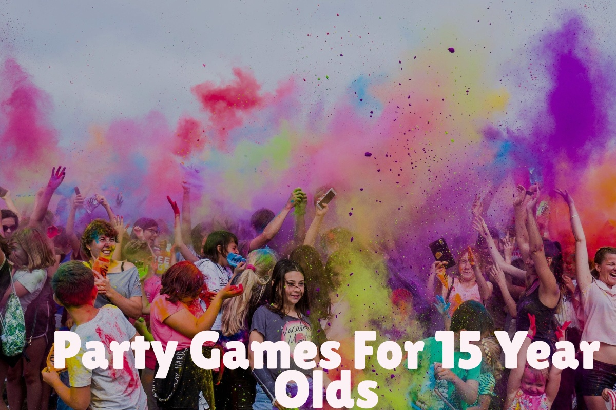 party games for 15 year olds