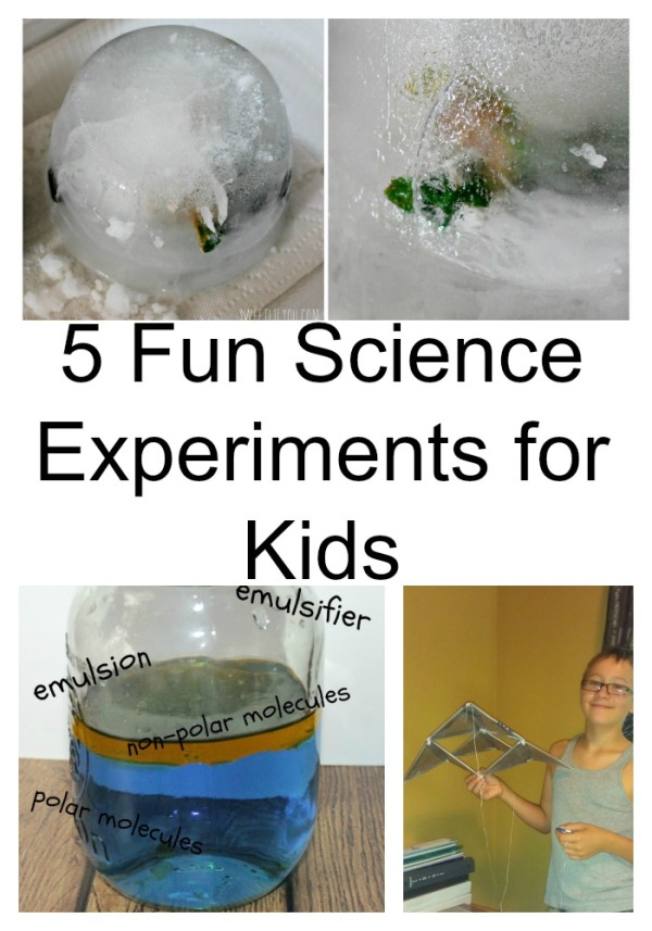 Science is  everywhere,  you just have to use a little imagination to turn it into teaching experiences or fun science experiments for kids, like these!.