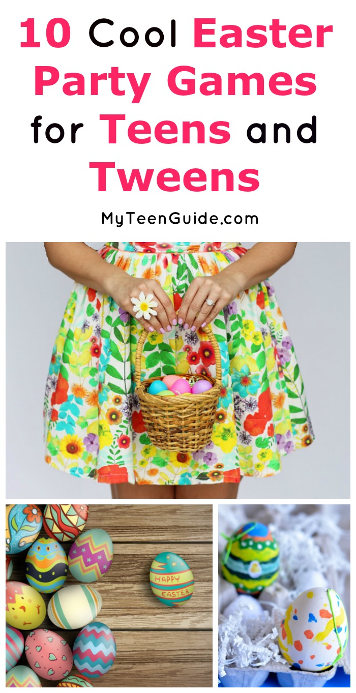 looking for fun easter party games that teens and tweens will love weve