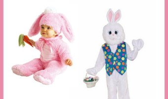 Check out seven of the cutest Easter bunny costumes for kids, babies and even for you! Make this Easter extra magical with these fun costumes!