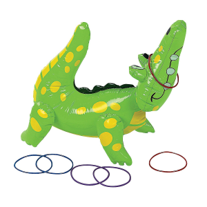 Alligator Ring Toss Indoor Party Toys For 5 Year Olds