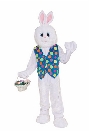 Blue Vest Bunny Great Easter Bunny Costumes