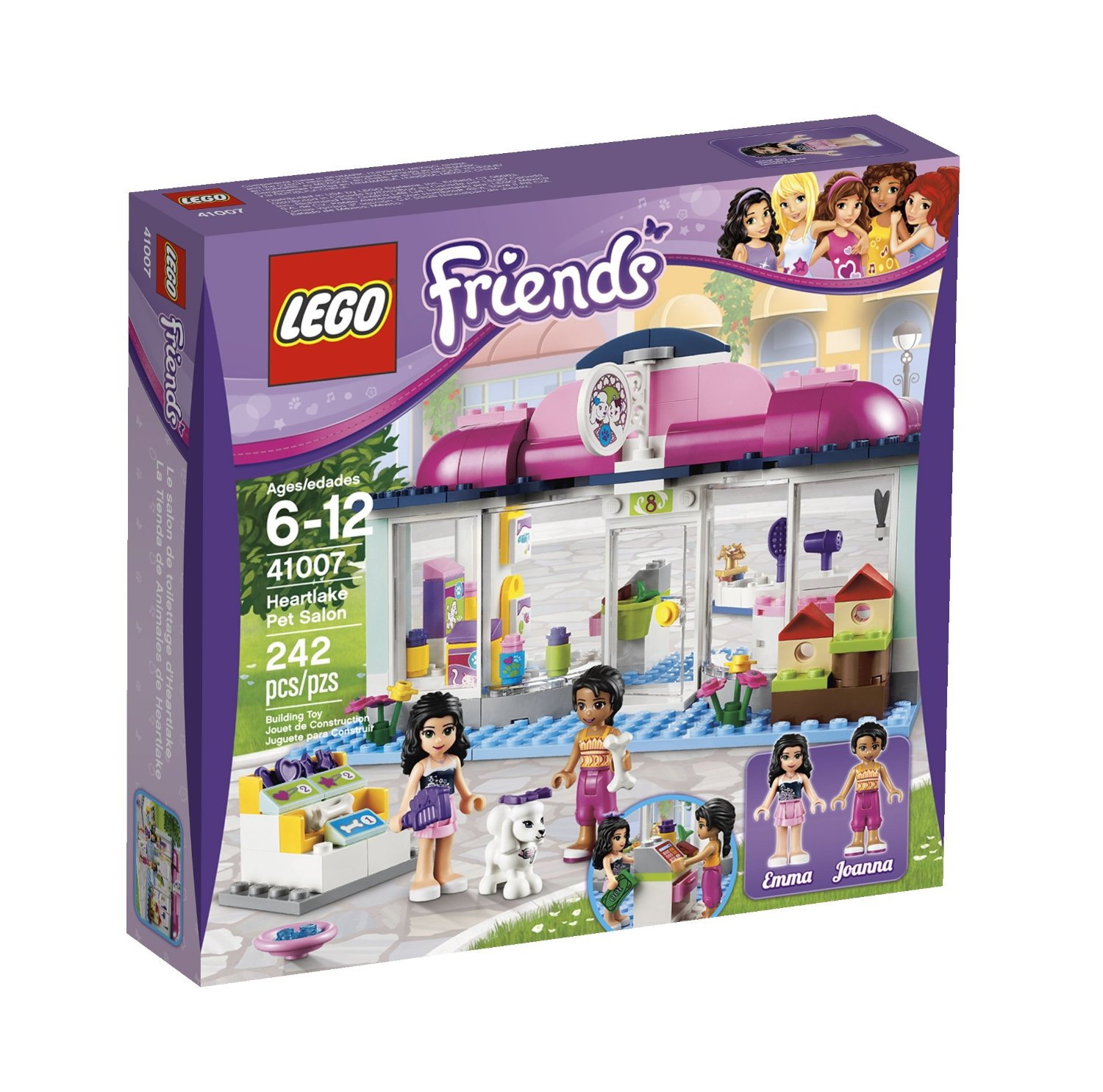 Heartlake Salon LEGO Friends Sets for Animal Lovers