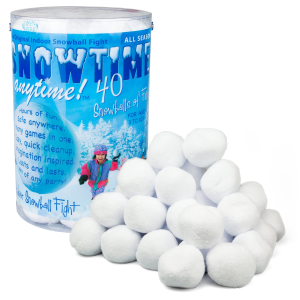 Indoor snowball Fight Kit: Indoor Party Toys For 5 Year Olds