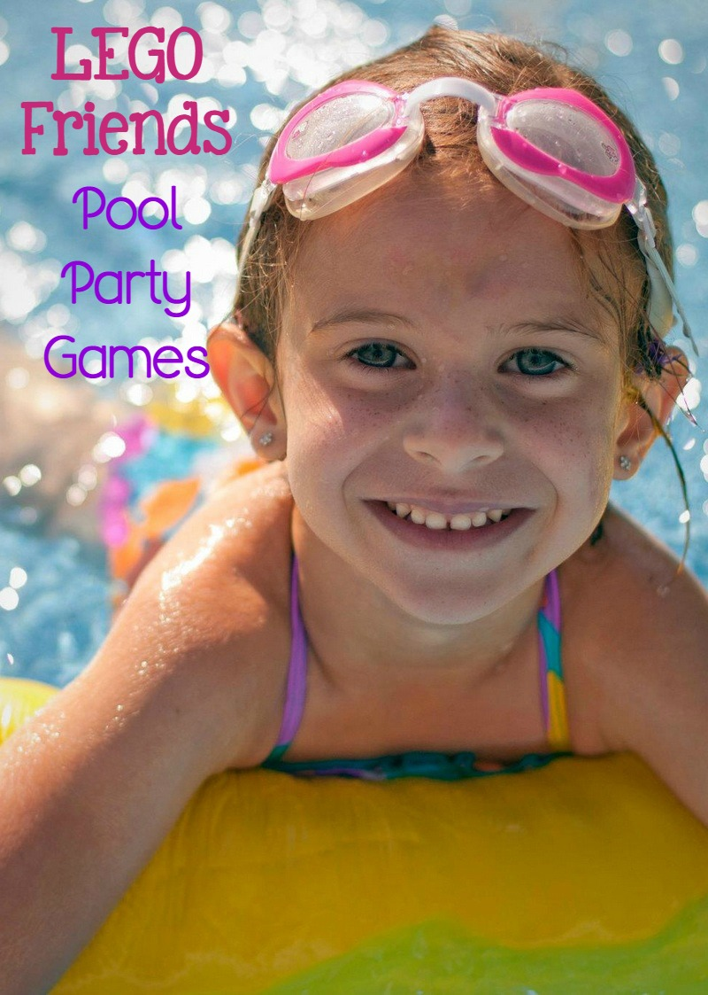 Looking for fun LEGO Friends games to play at your pool party this summer? Check out our party ideas inspired by the hit LEGO toys for girls!
