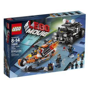 Lego Movie Super Cycle Chase Lego Toys for 9 year olds