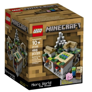 Minecraft The Village Lego Toys for 9 year olds