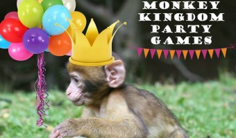 Monkey Kingdom Party Games for Your Favorite Little Monkey!