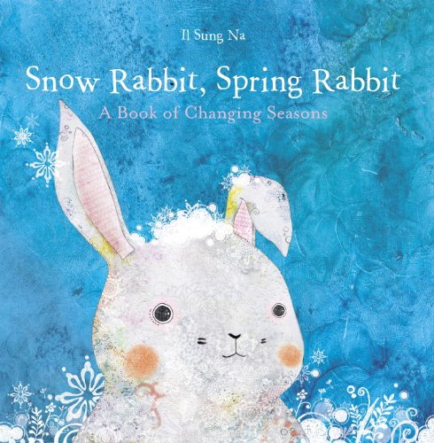 Snow Rabbit Spring Board Books for Babies