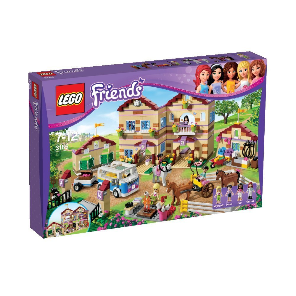 Summer Riding Camp LEGO Friends Games and  Sets for Animal Lovers