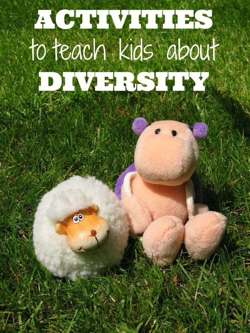 These 5 Activities to Teach Your Kids about Diversity are a perfect way to introduce your children to the concepts of acceptance and respect for others.