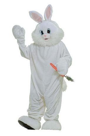 White Great Easter Bunny Costumes