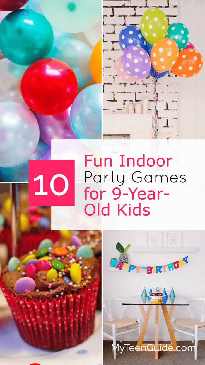 10 Super Indoor Party Games For A 9th Birthday