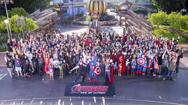 Check out the super cool Avengers Age of Ultron fan event at Disneyland and start getting excited about the release of the new Marvel Avengers movie!