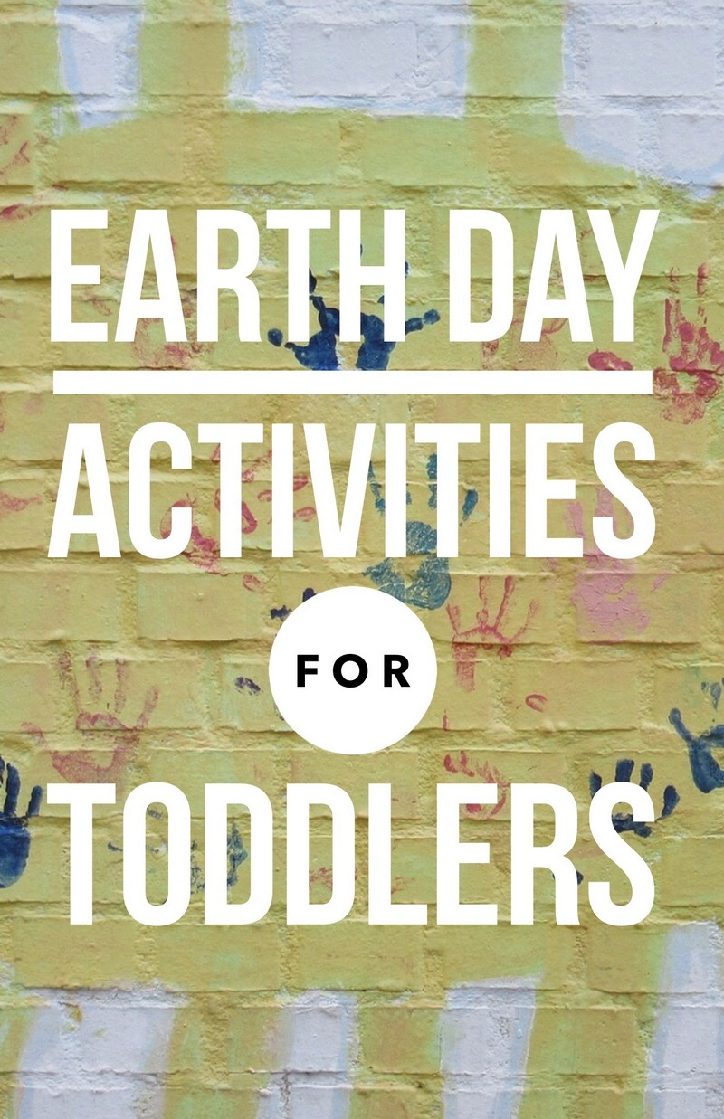 Your toddler may be too young to understand the meaning behind conservation, but that's not reason to exclude him from the fun! Check out these Earth Day Activities for Toddlers!