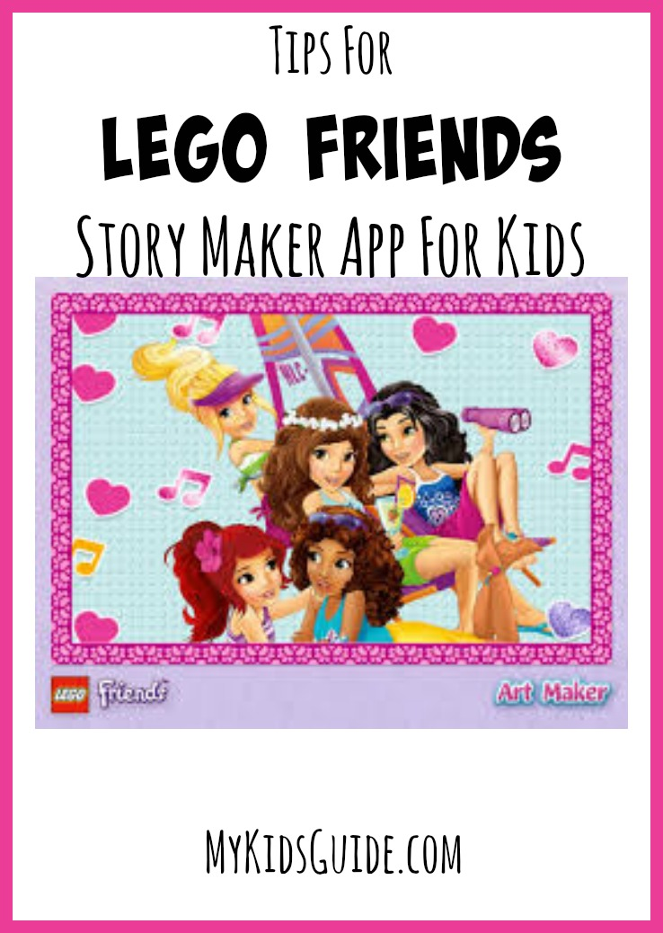 If your child loves LEGO Friends games, check out our tips for the LEGO Friends Story Maker app for kids! Great way to build self-esteem!