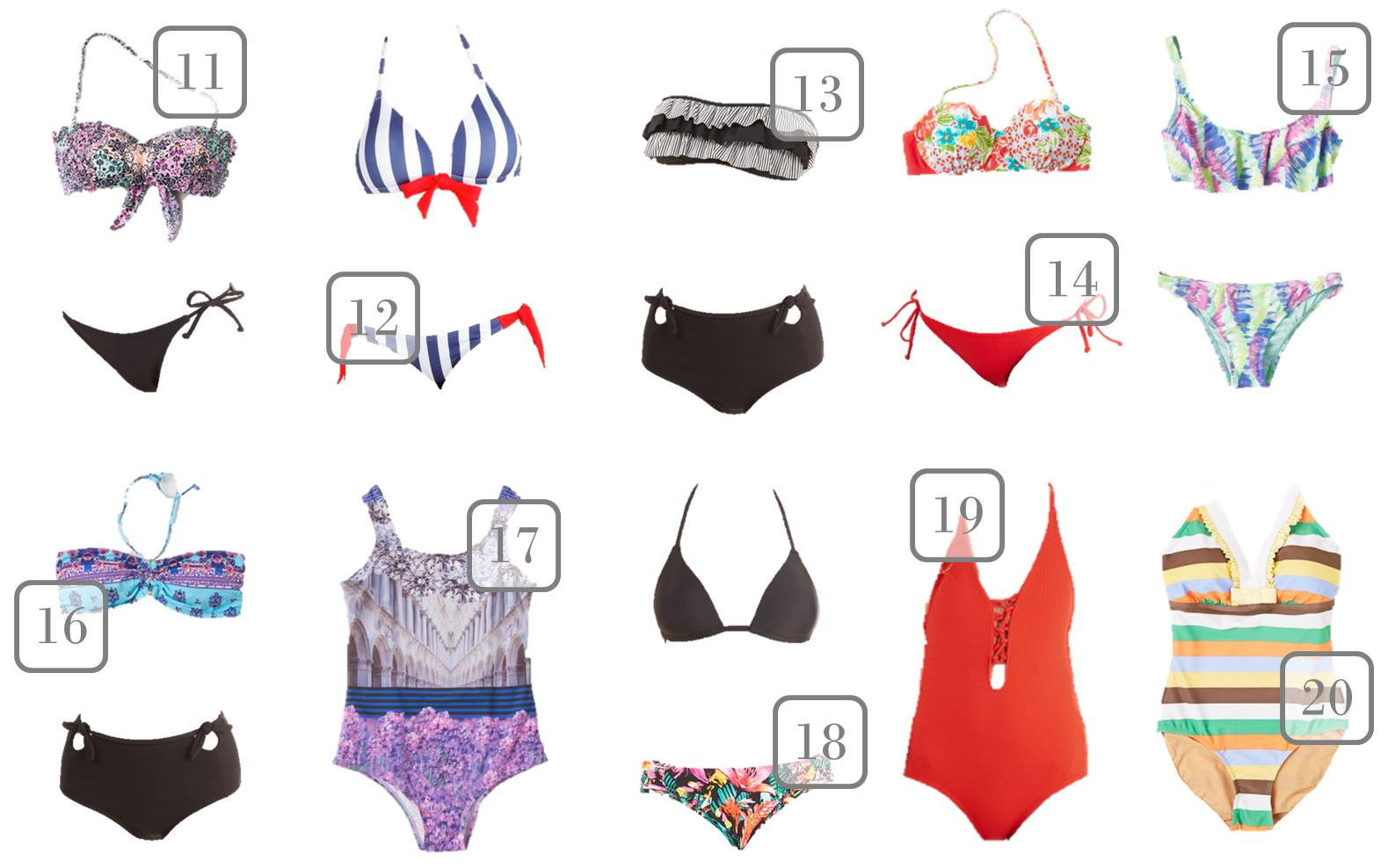 We've rounded up 20 of the hottest one and two-piece summer teen fashion swimsuits under $50! Be stylish on the beach without wiping out your allowance!