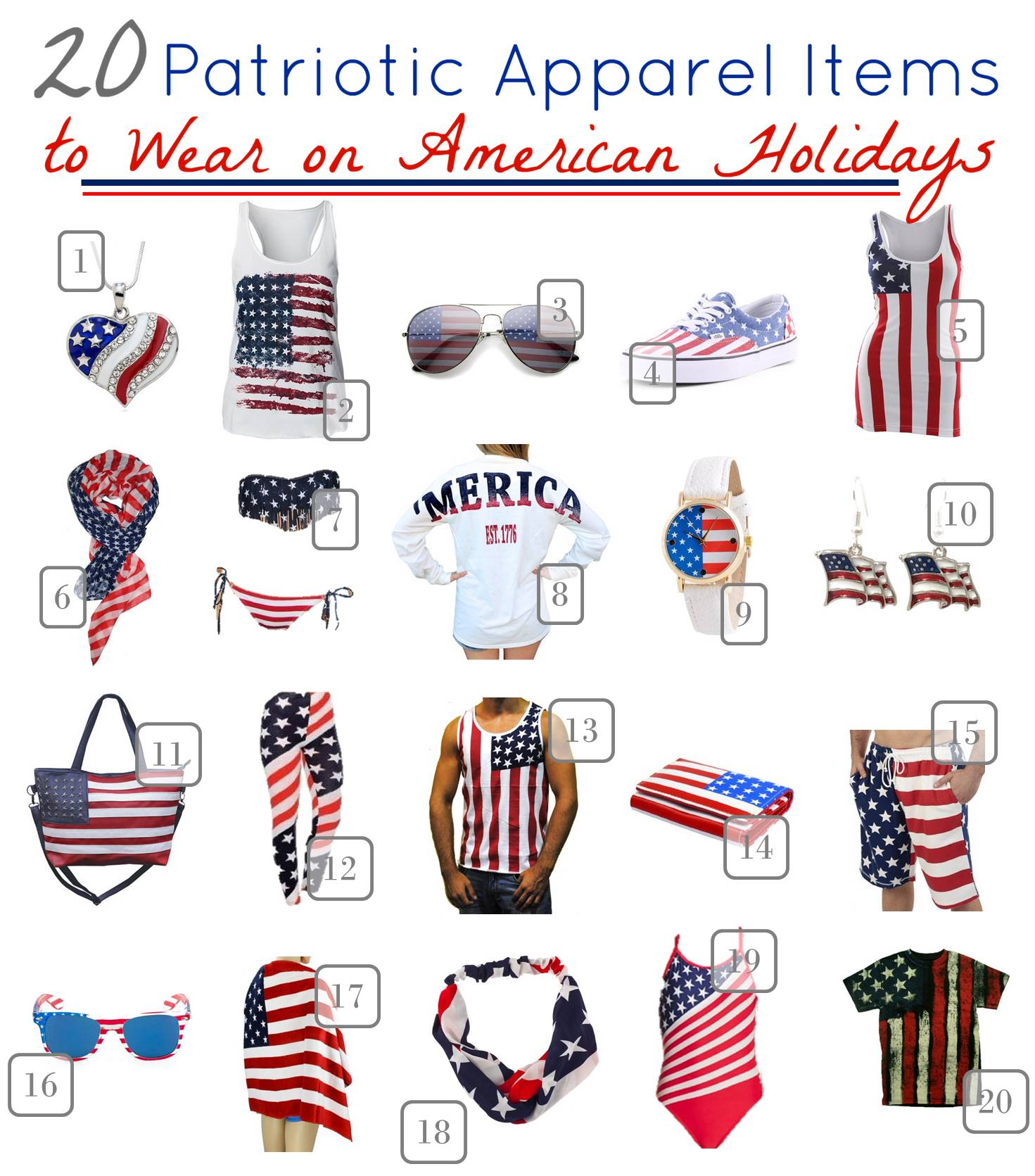 Patriotic Fashions for Teens